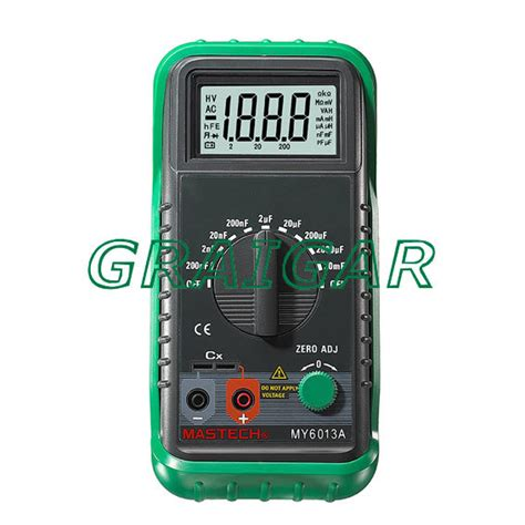capacitance meter aliexpress aliexpress buy free shipping my6013a 1999 counts digital capacitance meter electric