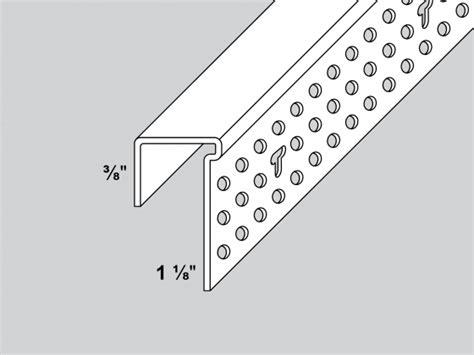Shadow Line Gipsum 3 Meter shadow line j bead trim tex drywall products