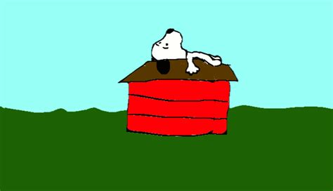 snoopy on his dog house the gallery for gt snoopy on doghouse sleeping