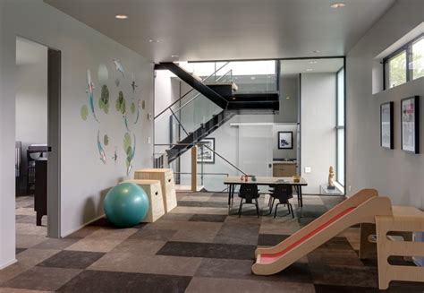 Ink Modern Plays play room contemporary home seattle by
