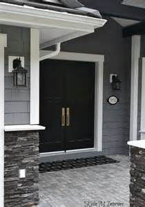 white house front door 25 best ideas about gray exterior houses on pinterest