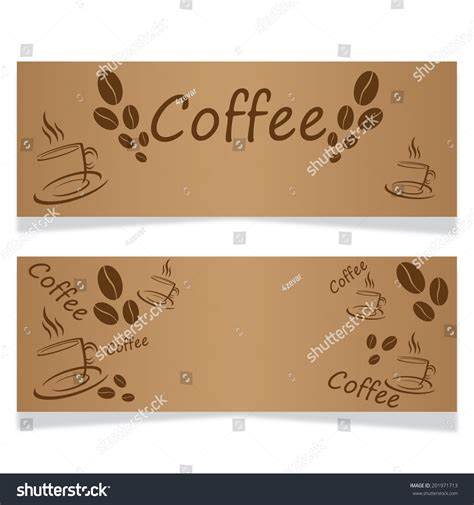 banner design coffee shop restaurant menu stock vector 699560560 template design menu business card banner stock vector