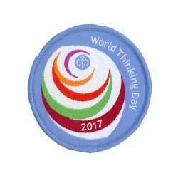 World thinking day 2017 woven badge badge gifts girlguiding