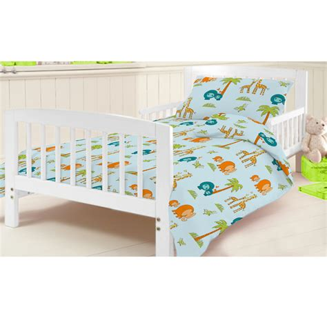 Cotbed Bedding Set Ready Steady Bed Children S Cot Bed Junior Duvet Cover Bedding Set Cotbed Ebay