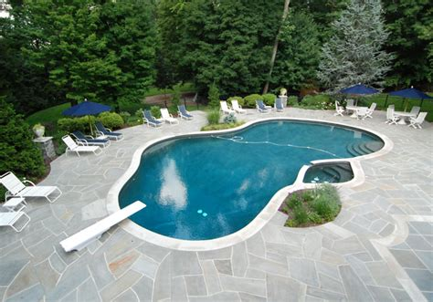 inground pool ideas life and love pool landscape designs