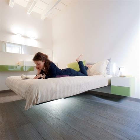 Industrial Bedrooms by Floating Beds Elevate Your Bedroom Design To The Next Level
