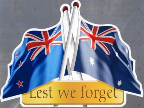 google images lest we forget anzac logo australia and new zealand flag google search