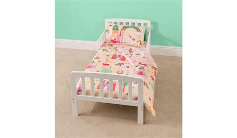Rafferty Toddler Bed Fairy Princess Cot Bed Duvet Set Cot Bedding Sets Asda
