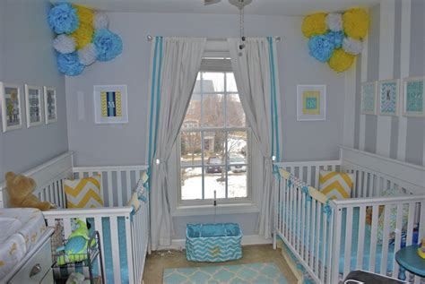 a gender neutral room for twins project nursery