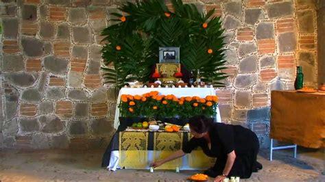 imagenes de como decorar un altar de muertos altar de muertos youtube