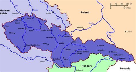 czechoslovakia map czechoslovakia alternative history