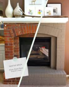 how to make a brick fireplace makeover kvriver