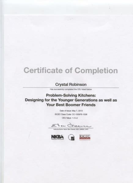 design a certificate of completion kitchen design certificate of completion daggett builders