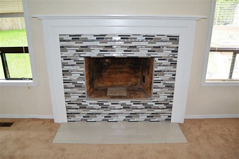fireplace mantel remodel spencer home solutions fireplace gallery