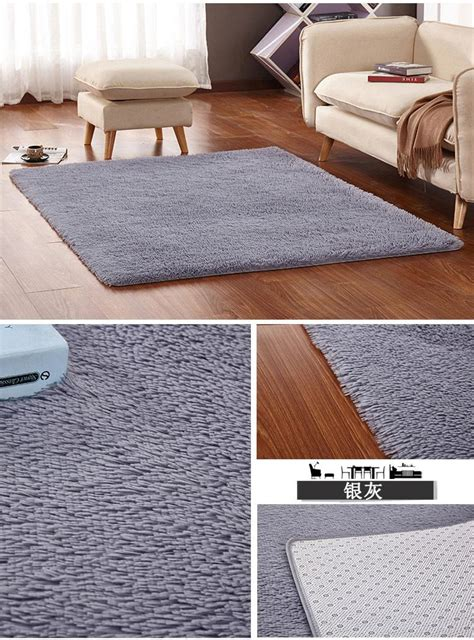 large rugs for bedroom plush shaggy thicken soft large carpet bedroom area rugs
