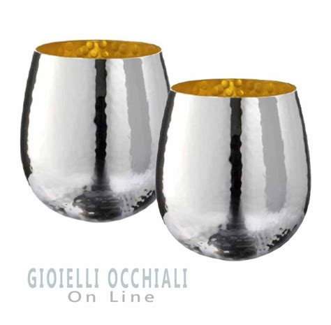 bicchieri argento oggettistica e bomboniere soprammobili design regali
