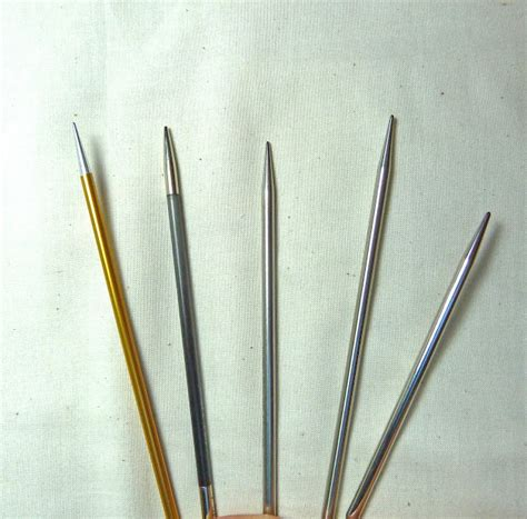 signature knitting needles circular knitting needle comparison