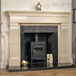 choosing a fireplace surround for your wood burning stove