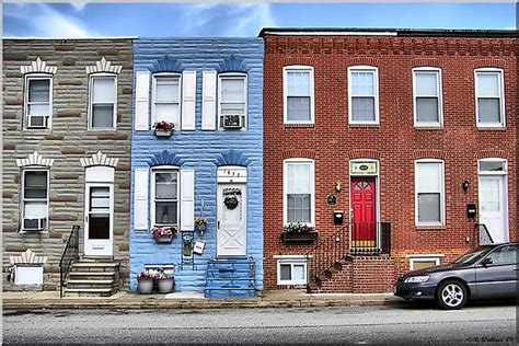 row home row house baltimore