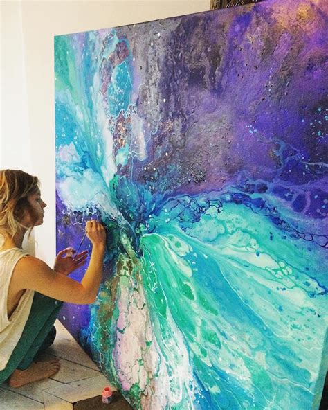 Paint By Number Wall Mural the ethereal abstract paintings of emma lindstr 246 m