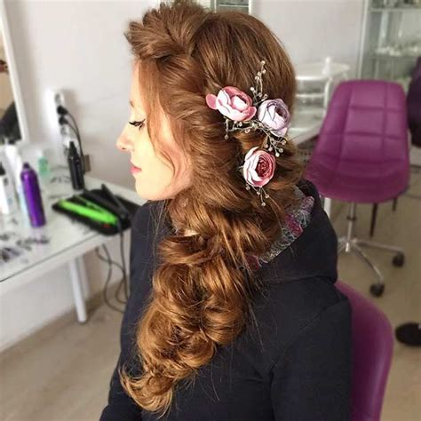 Side Swept Hairstyles For Prom by 20 Pretty Side Swept Hairstyles For Prom Hairiz