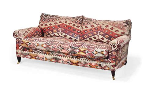 george smith sofa price a george smith kilim upholstered sofa of recent