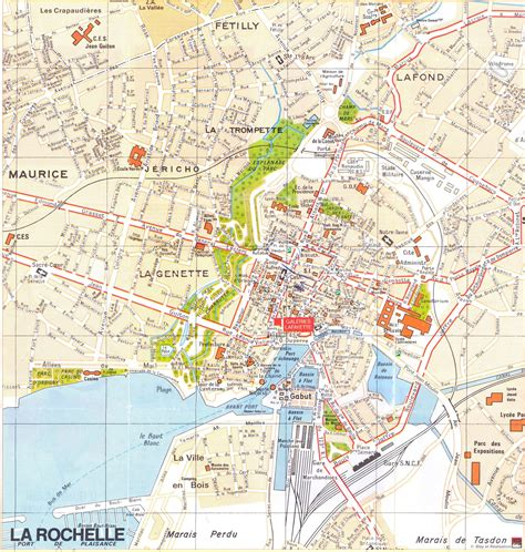 map of la rochelle large la rochelle maps for free and print high