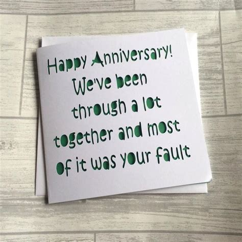 Things To Write In Anniversary Card To Husband