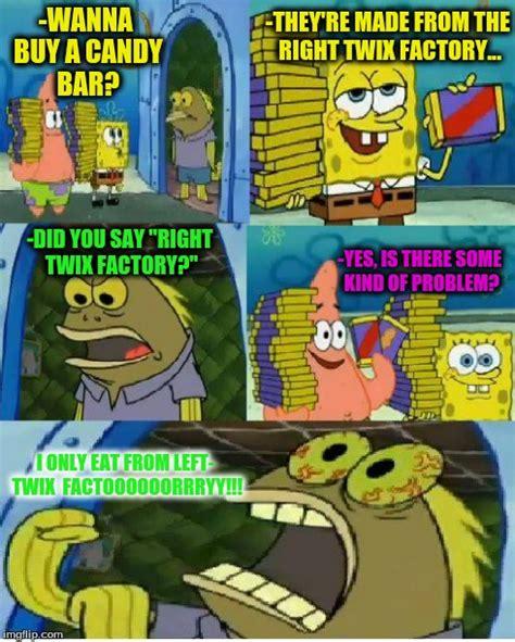Spongebob Chocolate Meme - chocolate spongebob blank meme template
