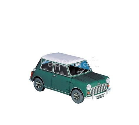 Mini Cooper Papercraft - pap 237 rov 233 modely vyst蝎ihov 225 nky mini cooper papercraft cz