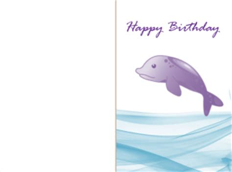 printable birthday cards with dolphins birthday cards dolphins
