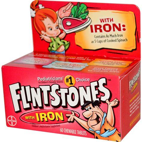 fruits w iron flintstones children s multivitamin supplement with iron