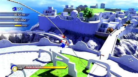 sonic day sonic unleashed windmill isle apotos day act2 speed run 1 20 27