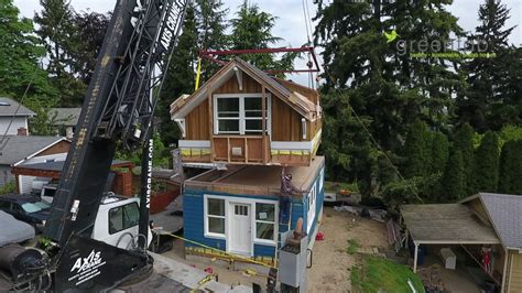greenfab prefab homes seattle backyard cottage youtube