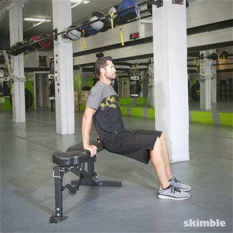 dips or bench press triceps how to do exercises by muscle group skimble