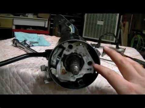 part  gm steering column repair youtube