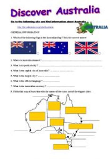 Australia Worksheet Resultinfos | australia worksheets resultinfos