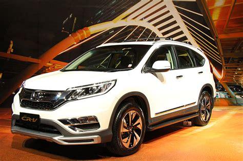 Kas Rem Mobil Honda Crv harga dan spesifikasi mobil honda cr v 2016