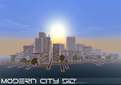 modern city modern city 512 download minecraft project