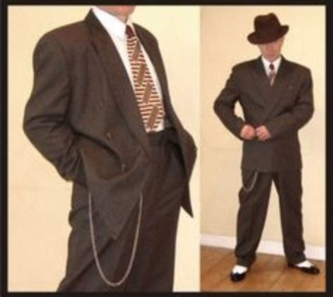 swing suit 1940s gangster gangland collection pinterest