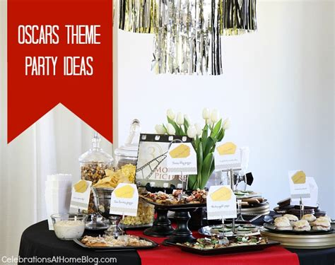 postmodern themes in film entertaining oscar themed party ideas celebrations at home
