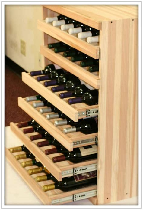 Wine Rack Drawer Insert by We Make It Happen With Vintner Wine Cradles