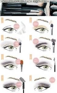 schlupflider schminken vorher nachher makeup 50plus so schminken sie schlupflider einfach