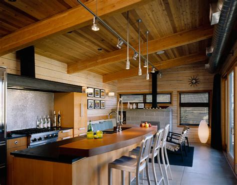 modern cabin interior living off the grid is a cabin right for you