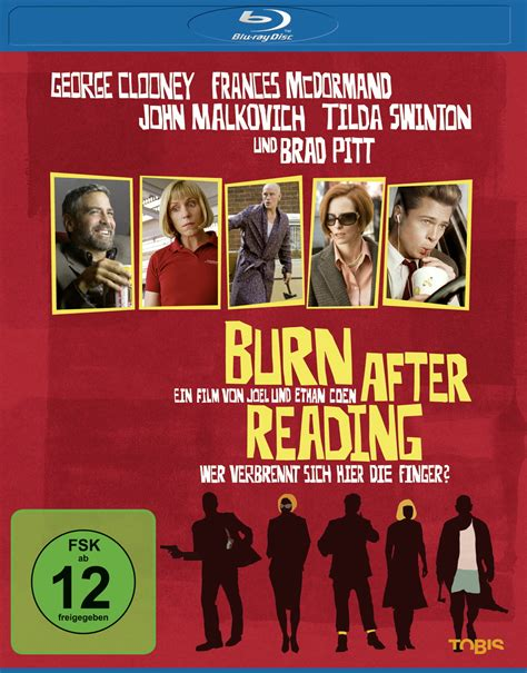 themes in burn after reading burn after reading ethan coen joel coen blu ray disc