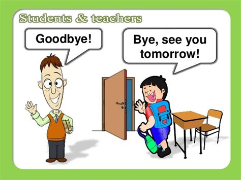see you tomorrow i you books classroom language
