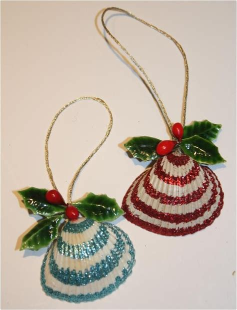 17 best ideas about seashell christmas ornaments on