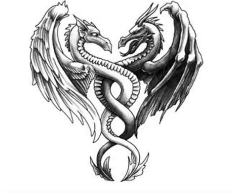 evil dragon tattoo designs vs evil designs www pixshark
