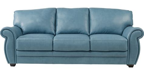 blue leather chair with ottoman teal leather sofa leather sofas sectionals costco thesofa
