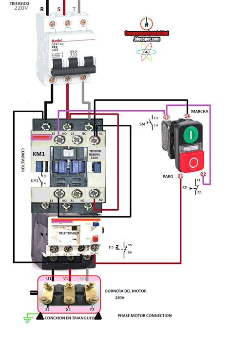 magnetic contactor wiring diagram ge magnetic starter